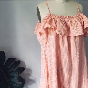 Umgee • Cold Shoulder Tunic Dress